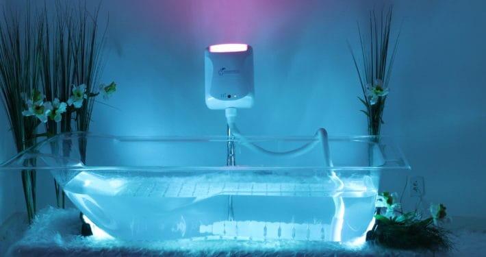 Gerador de ozônio portátil OZONOMATIC e Banheira Cristal