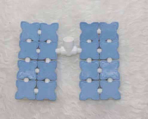 "Esteira para Pedilúvio: Acessório Ozonomatic ""mini esteira"" para uso dentro da Vaschetta.Disponível nas cores azul ou branca."