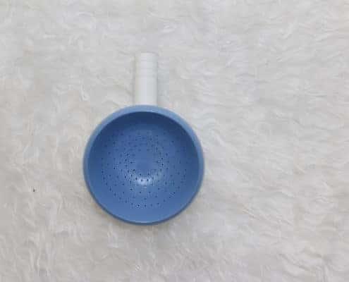 Ozonomatic Acessório Taça para os Seios: Acessório similar a uma taça para direcionar a massagem sobre os seios.