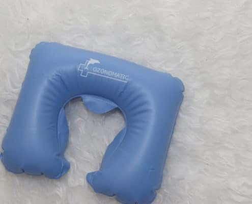 Ozonomatic Acessório: Travesseiro Inflável Anatômico,não tóxicoeantialérgico. Disponível nas cores azul ou branco.