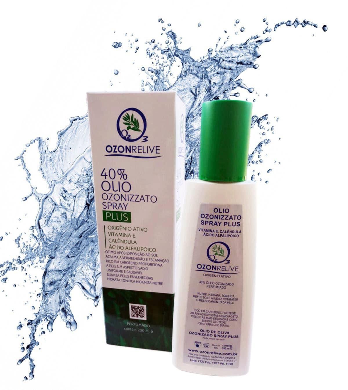 Olio Ozonizzato Spray Plus