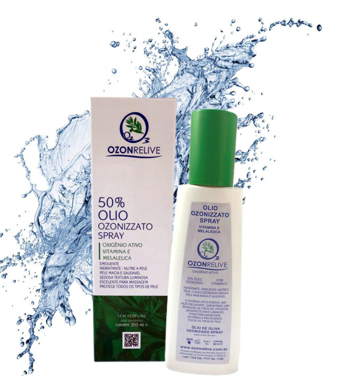 Olio Ozonizzato Spray
